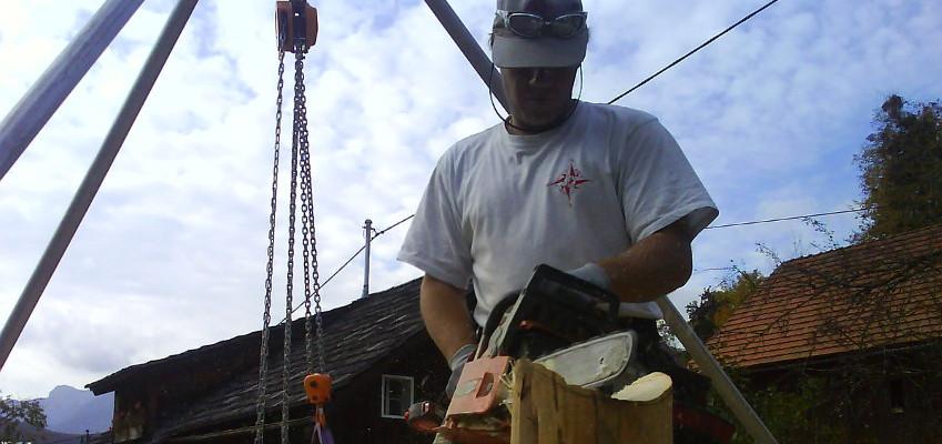 Holzprojekte und Montagen